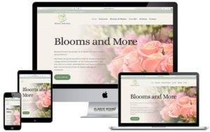 Webdesign website Blooms & More