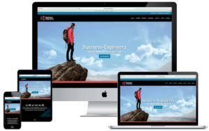 Webdesign website Business Engineers