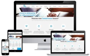 Webdesign website CommITment