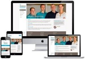 Webdesign website Diseraad Praktijk voor Kunstgebitten