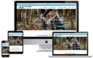 Webdesign website FitYourBike