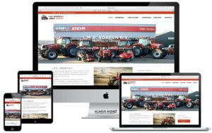 Webdesign website LMB Vorden