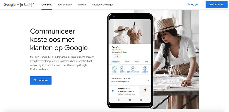 Google Mijn Bedrijf beheren - Always Ahead Online Marketing en Webdesign