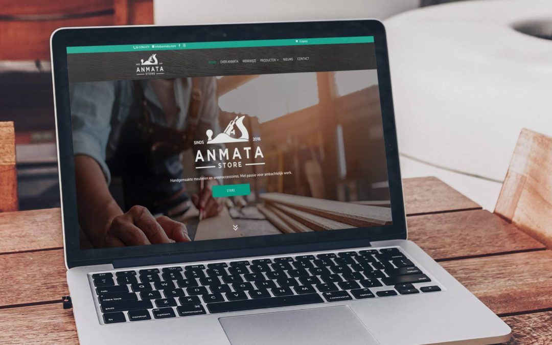 Nieuwe website anmata.store online