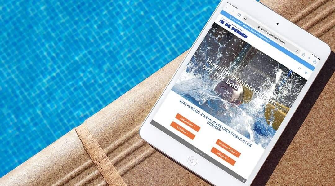 Blog voor nieuwe website Zwembad in de Dennen voor Instagram - Always Ahead