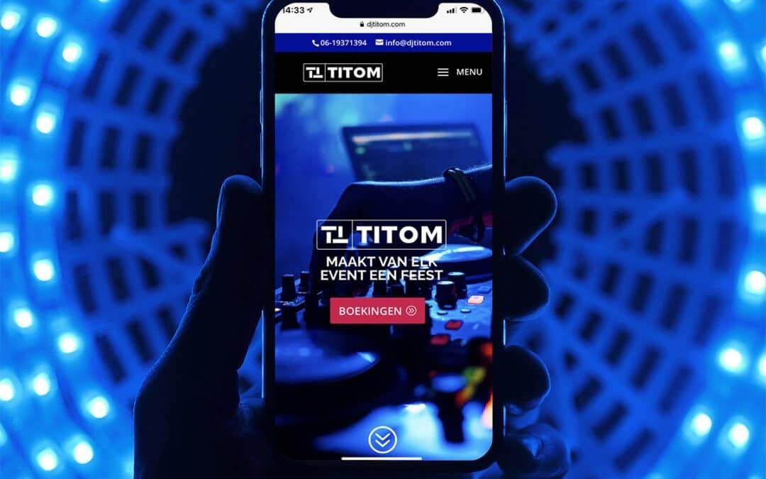Nieuwe website DJ TiTom - Always Ahead
